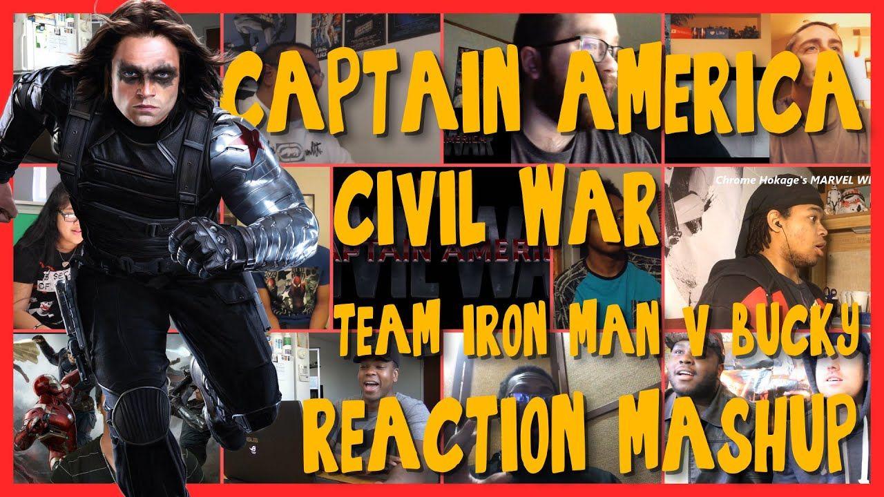 "Captain America Civil War CLIP ""The Team Vs Bucky"