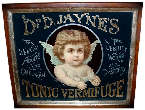 Advertising Antiques Sign