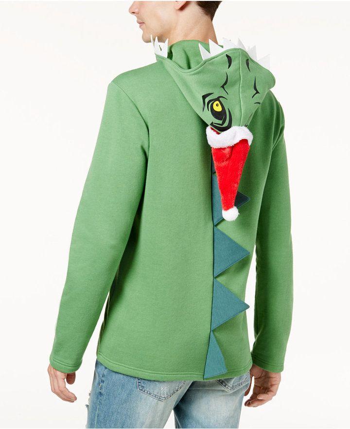 American Rag Mens Holiday Dino Hoodie Created For Macys
