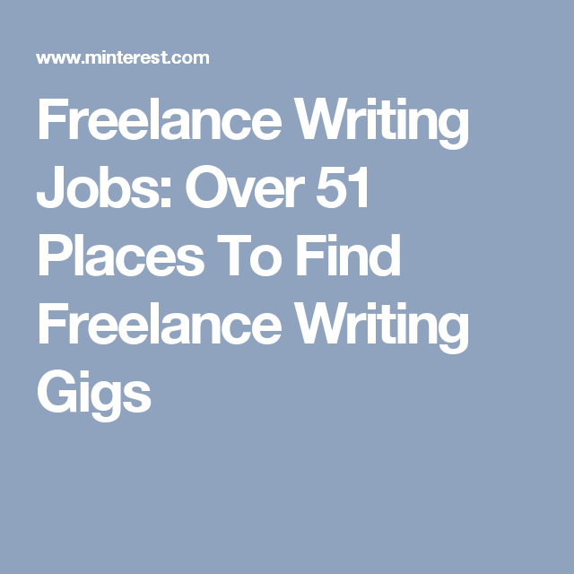 lance writing jobs over places to lance writing  looking for lance writing jobs here is a collection of over 51 lance writing gigs for anyone everyone to make money writing online