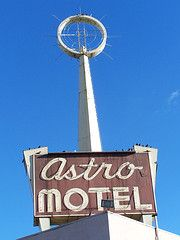 Vintage Motel Sign - Fresno, Ca