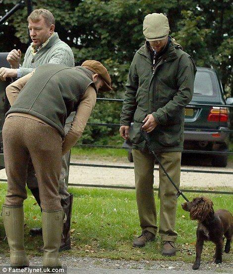 2827bad9f9b David Beckham enjoys day of partridge shooting on Guy Ritchie s ...