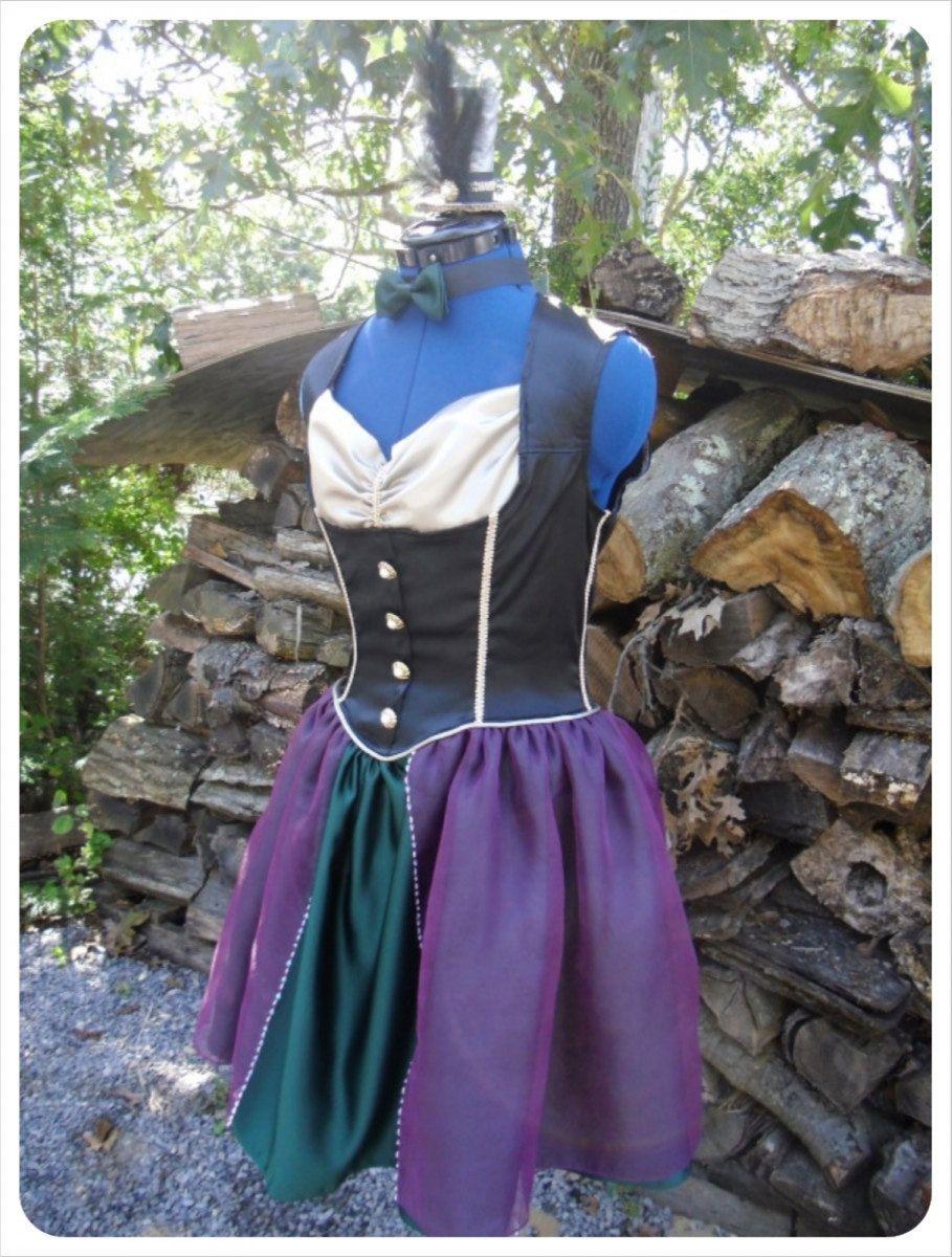 Pretty hatter dress | Alice In Wonderland 2012-2013 | Pinterest