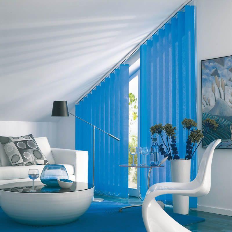 Wohnideen Preiswert wohnidee lamellenvorhang in sonderform das wohnzimmer