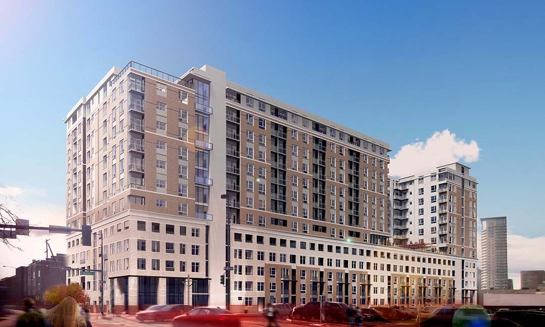 Alexan 20th Street Station Apartments Prescient Street Central Business District Architecture