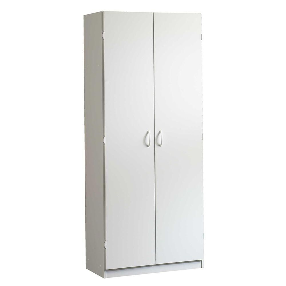 beginnings collection 71 in 5 shelf particle board storage cabinet rh pinterest com white particle board storage cabinets where to buy particle board storage cabinets