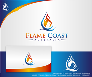 Flame Coast Sports wear company needs Logo Colorful, Bold Logo Design by alvinnavarra