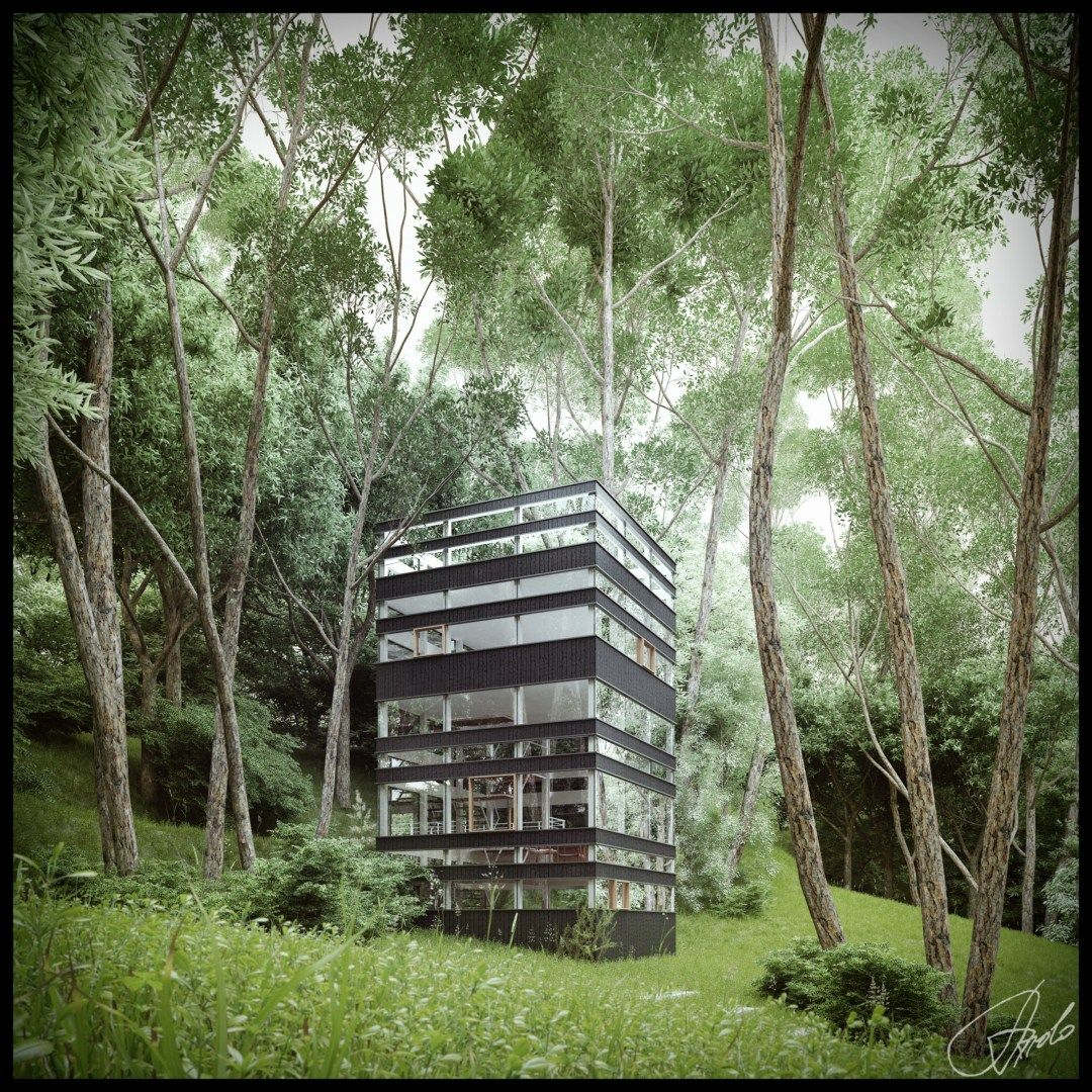 Beautiful Japanese House beautiful house in the forest.. the latest japanese architecture
