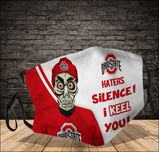 Achmed Ohio State Buckeyes haters silence i keel you face mask