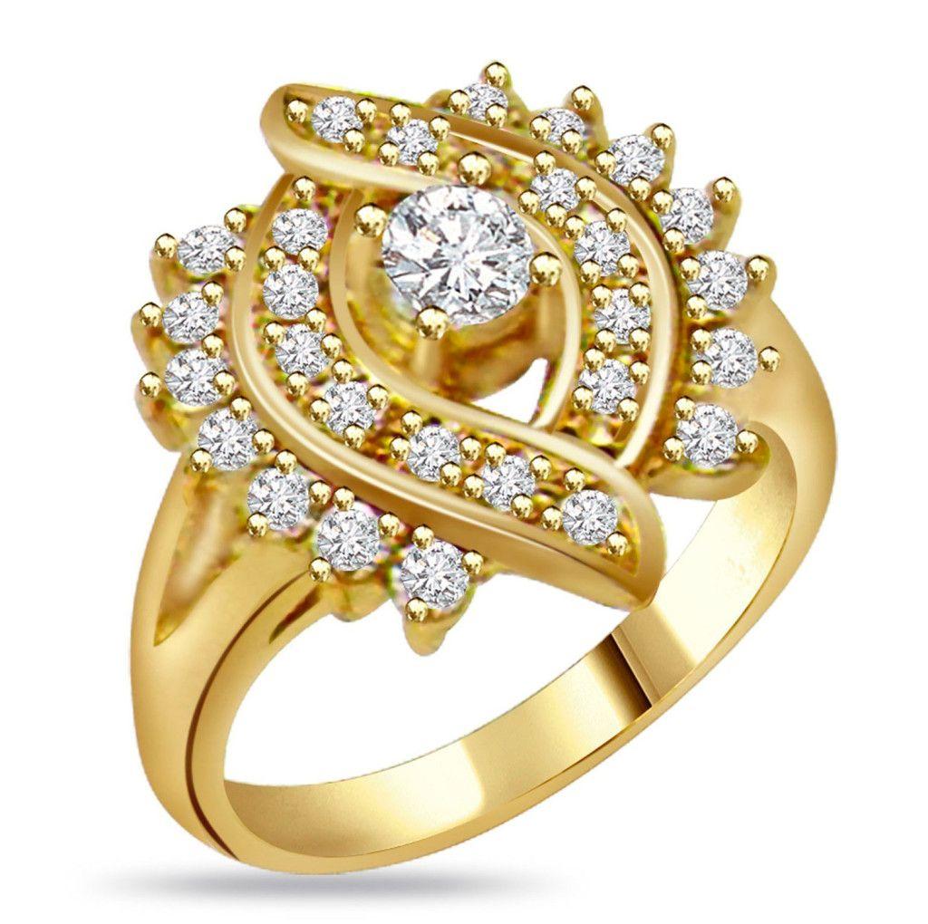 Золотые украшения с бриллиантами 31