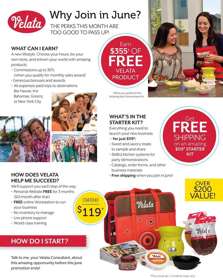 Scentsy just announced are June Joining Promotion and it is amazing! If you have been sitting on the fence it is now time to JUMP! Join Scentsy or Velata in June and the shipping on your starter kit is FREE! Also you have the opportunity to earn $355 in Scentsy or Velata products for FREE! Start now and build up your customer base for our busy fall season. If you have questions please PM me, we would love to have you join Team Illuminating Warmth…