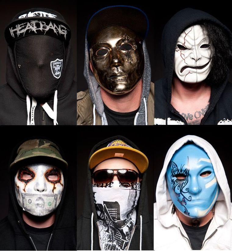 Hollywood Undead Masks Quotes Linkin Park Skrillex Music Bands