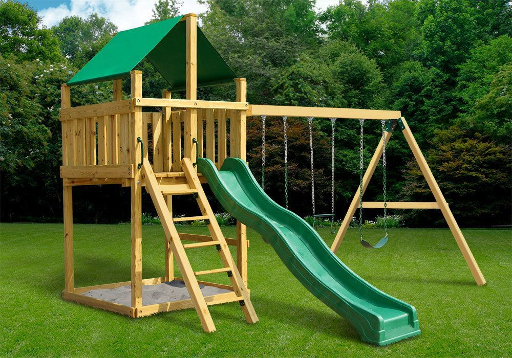 Discovery fort with swing set diy kit 282001 swing