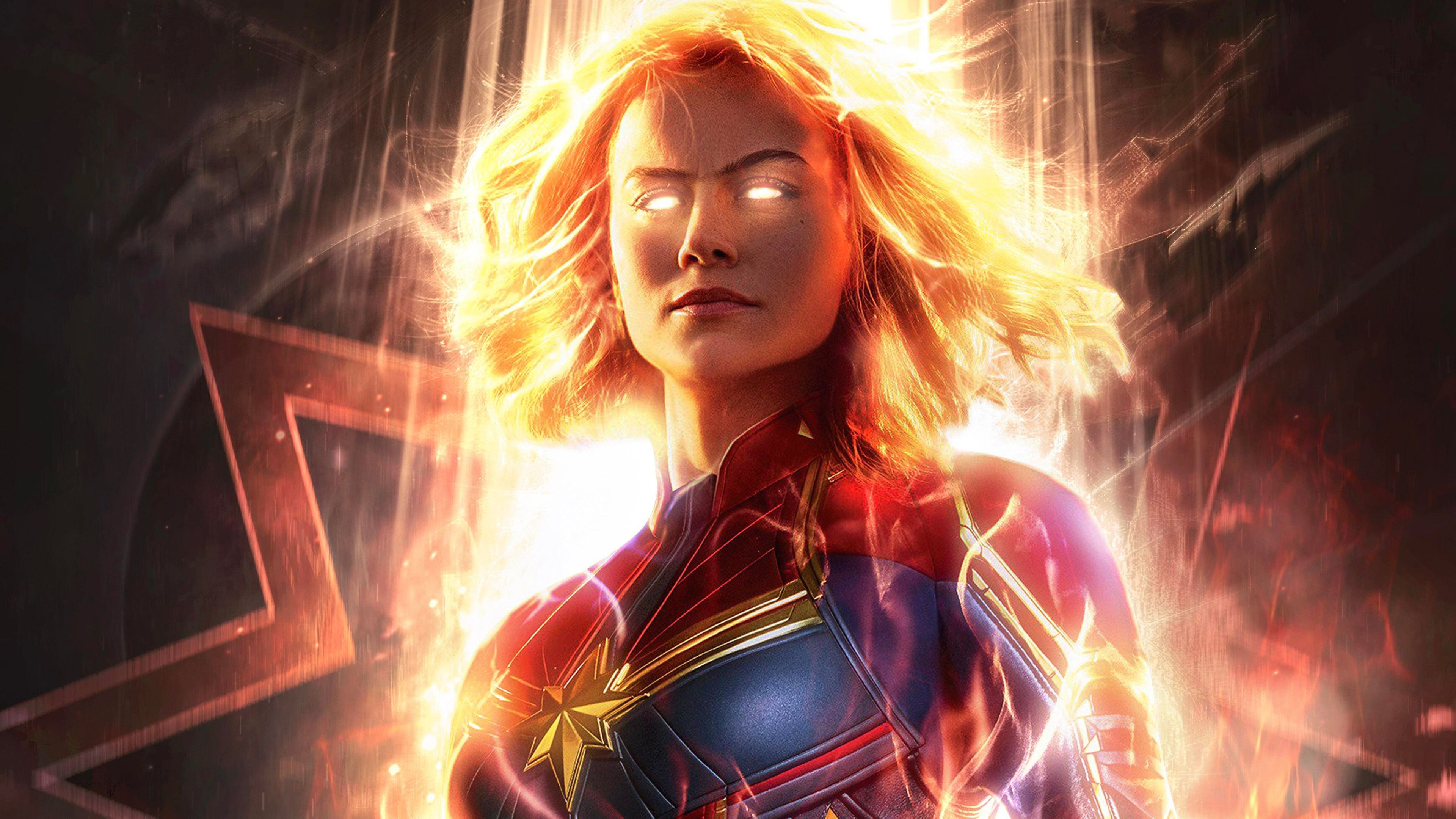 Captain Marvel Movie 2019 Carol Danvers Brie Larson 4k Wallpaper Marvel Comics Captain Marvel Movie 2019 Captain Captain Marvel Marvel New Upcoming Movies