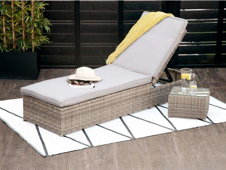 bain de soleil r sine tress e portefino prix promo bain de. Black Bedroom Furniture Sets. Home Design Ideas
