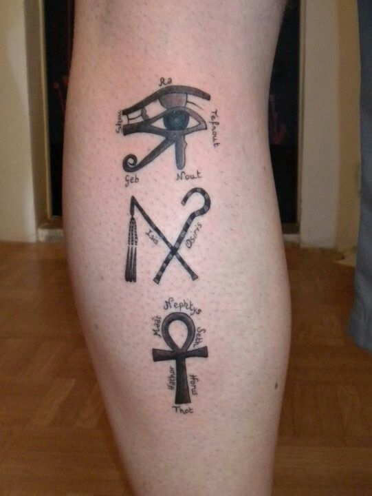 Egyptian Tattoo Ra Eye Of Horus Crook Fail Ankh Explained