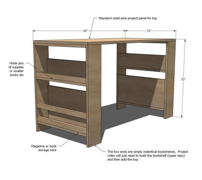 Cool Child Desk Redboth Com In 2020 Diy Kids Art Desk Kids Storage Kid Desk