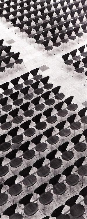 arne jacobsen series 7 chairs Na minha opinião, a melhor cadeira já desenhada!