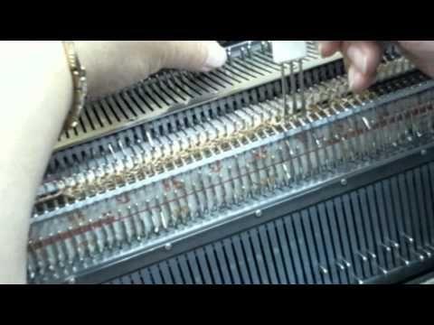 Машинное вязание видео уроки касабланка