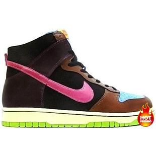 brand new 9c1bd 4c0ee Mens Nike Dunk High NL Undefeated Blue Reef Cotton Candy Black