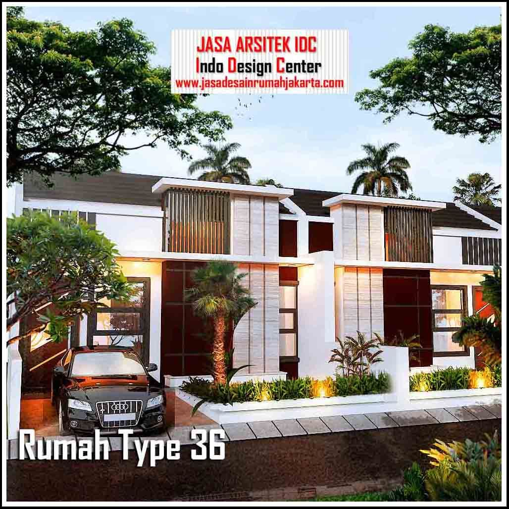 Desain Rumah Minimalis Modern Type 36 ( Part 3 of 3) denah ...
