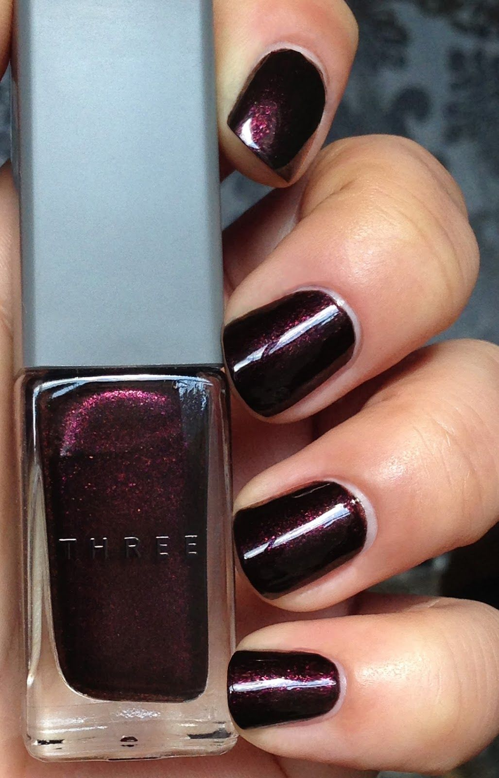 So Lonely in Gorgeous: March 2015 THREE 15 dark and stormy nail ...