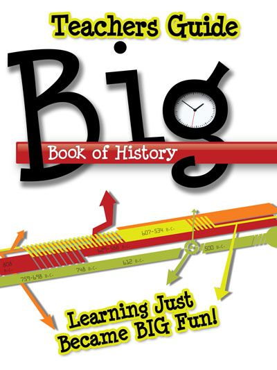 Free Download* The Big Book of History is a vibrant timeline from - sample timeline for students