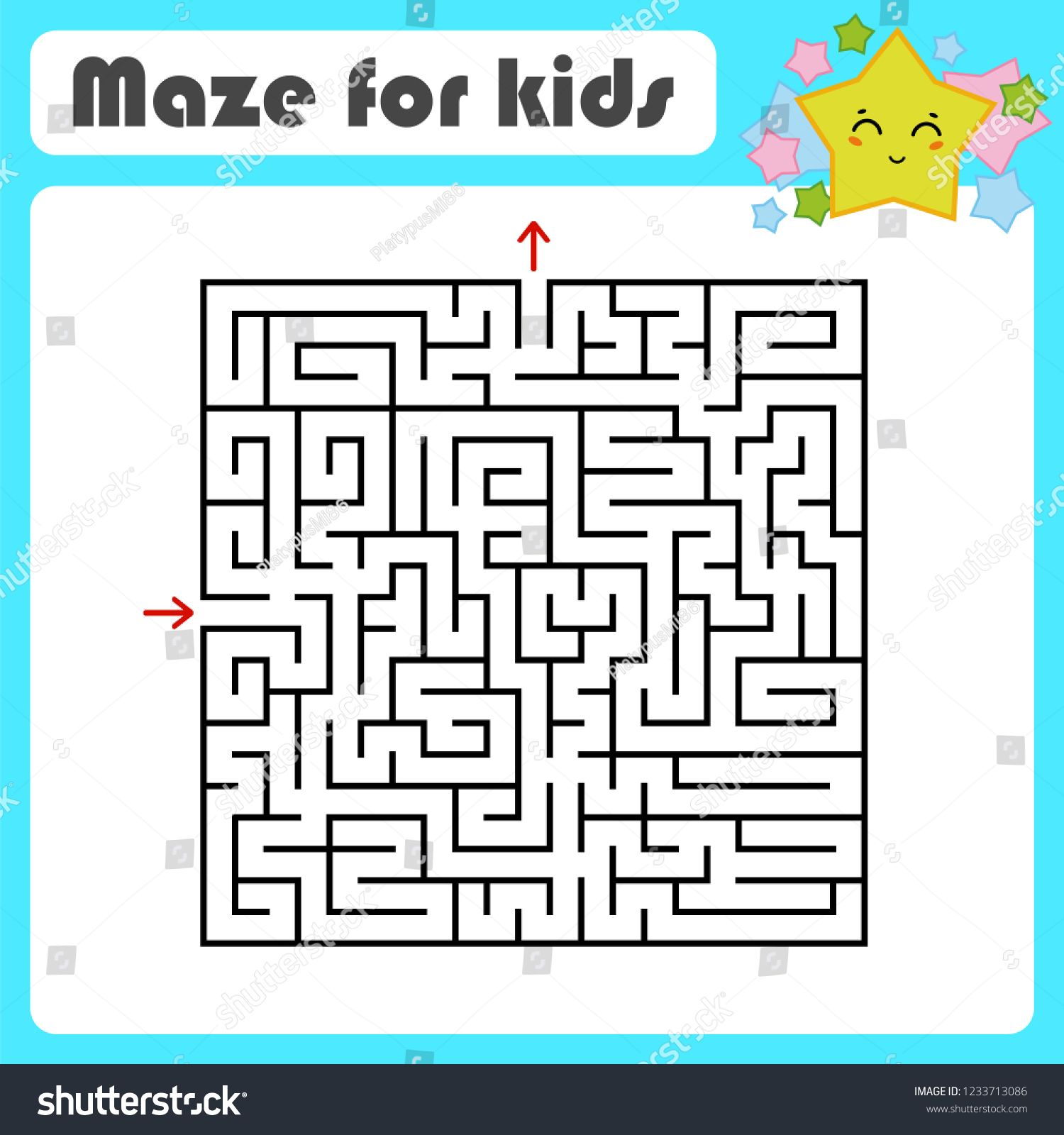 Image Result For Kids Worksheet Maze