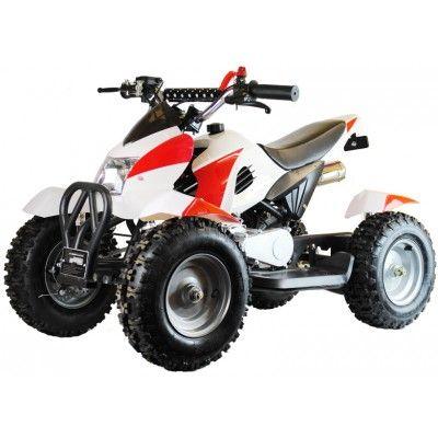49cc Zipper Petrol Micro Atv Quad Bike Red White Http Www