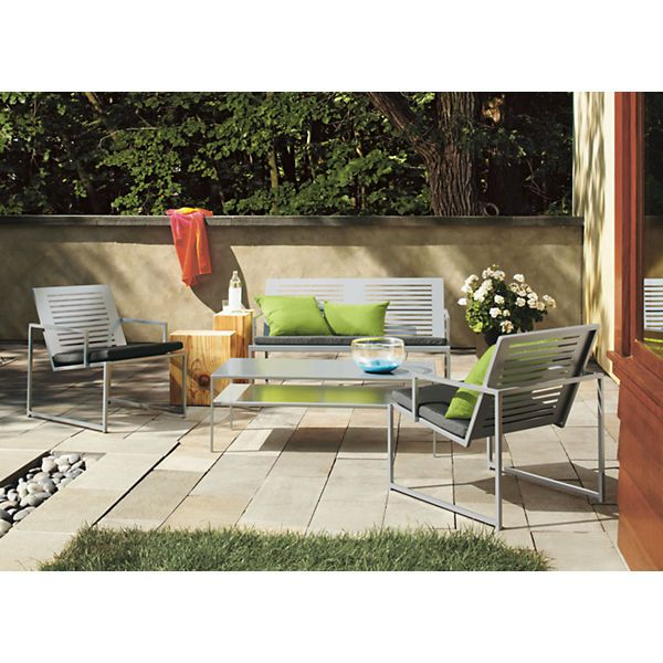 Awesome Cruz Lounge Chair With Cushions   Chairs U0026 Chaises   Outdoor   Room U0026 Board
