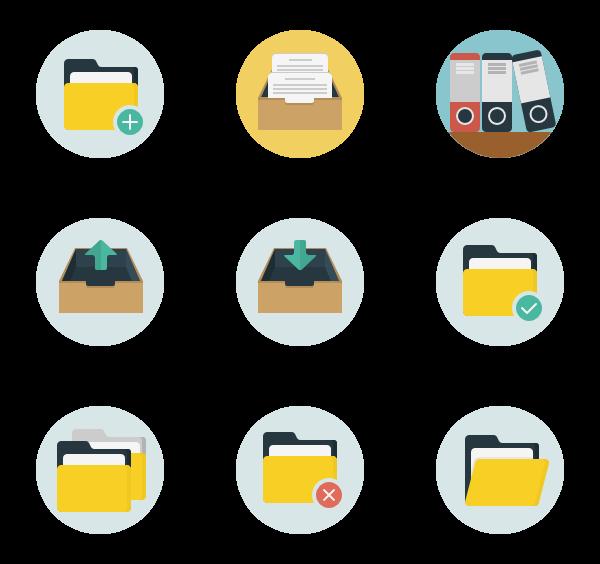 Folders Icon Pack Folder Icon Business Icon Folder Design