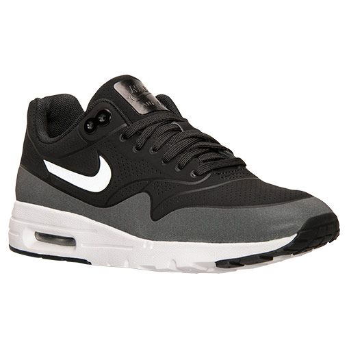 Women's Nike Air Max 1 Ultra Moire Running Shoes | Finish Line |  Black/Metallic