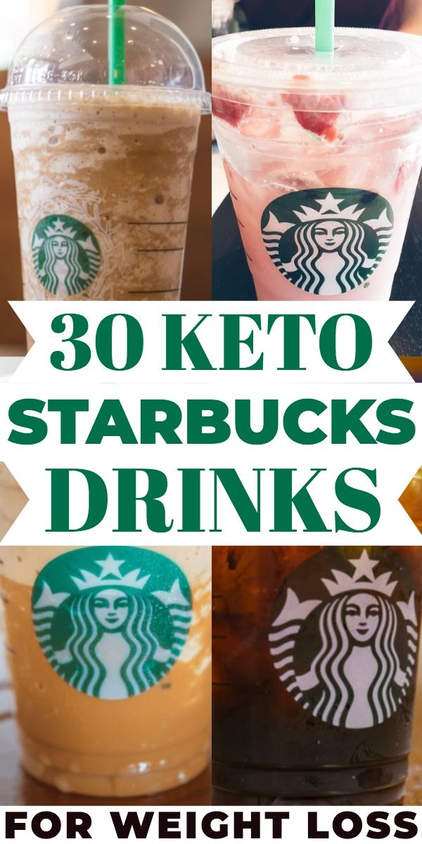 30 Of The Best Keto Drinks From Starbucks! How To Keep Your Starbucks Order Low Carb & Keto