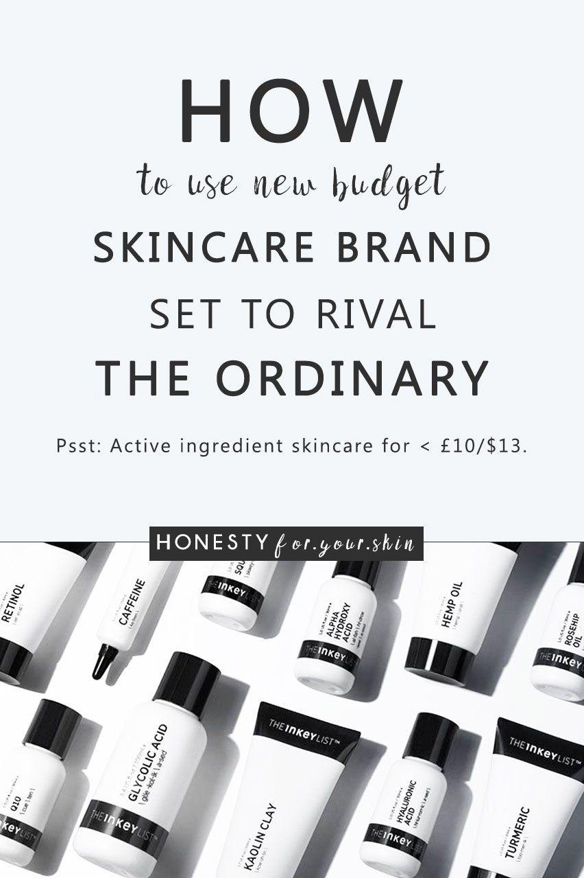 How to Use New Budget Skincare Brand The INKEY List Skin