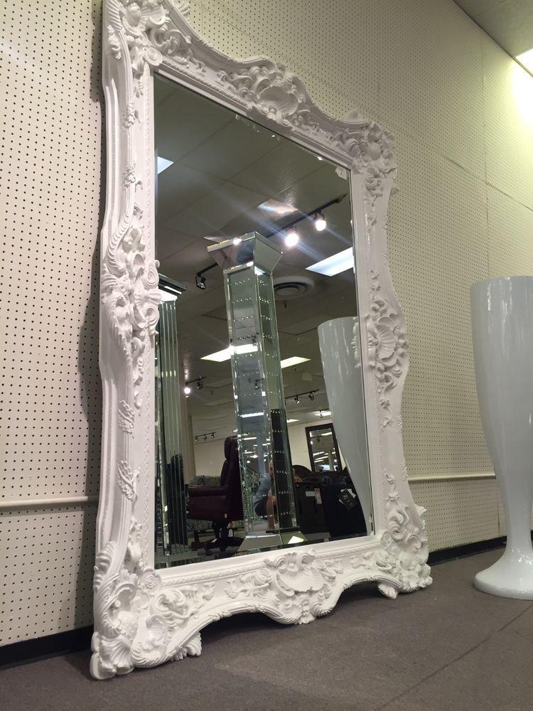 Presale Ornate Baroque Rococo Gothic Salon Boutique Statement Floor Wall Mirror Baroquerococostyle Home Decor