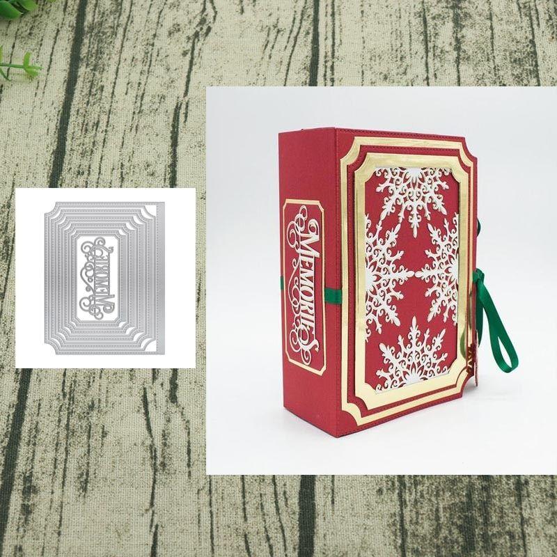 Card Cover Cutting Dies Stencil DIY Scrapbooking Album Paper Card Embossing