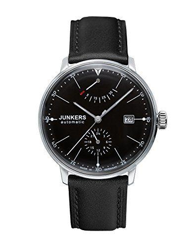 Junkers Bauhaus Automatik 60602 - Reloj analógico automático para hombre, correa de cuero color negro Junkers http://www.amazon.es/dp/B0066GKUJ8/ref=cm_sw_r_pi_dp_5Ec1wb18J3KRS