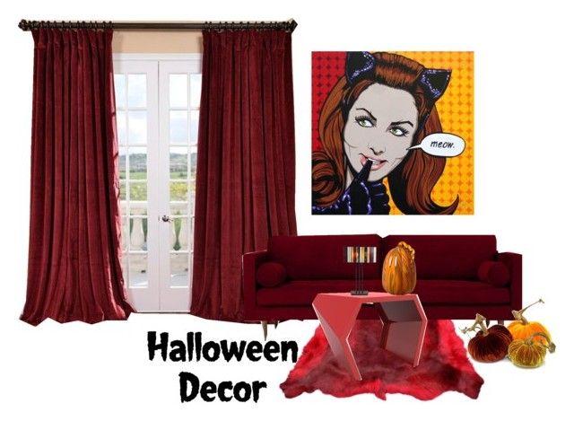 Haunted House Halloween Decor Tiffany, Polyvore and Shopping - hello kitty halloween decorations