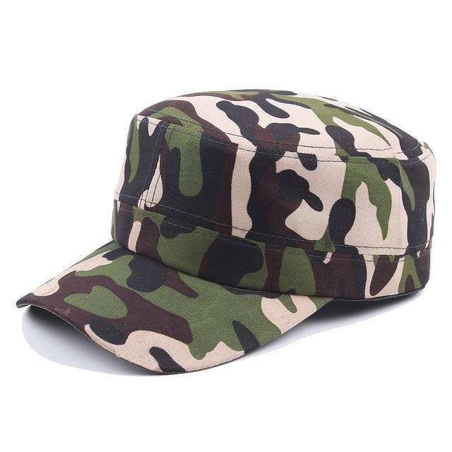 516abdb6b Fashion 1PC Camouflage High Quality Police Cap Unisex Hat Baseball ...
