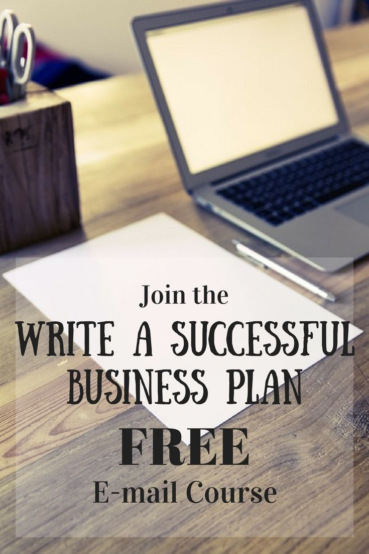 Join the Writhe a successful business plan free email course and learn how to start a business. It's easy with the included workbook.