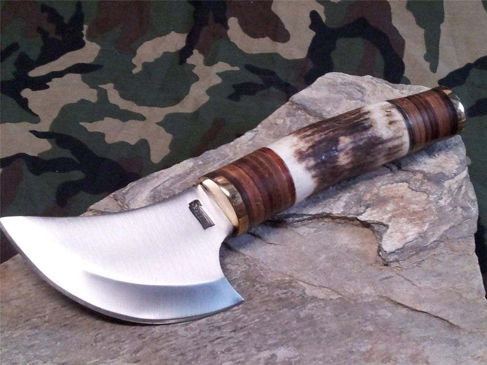 Details About Marbles Tundra Ulu Knife 8 1 8 Quot Stacked Wood