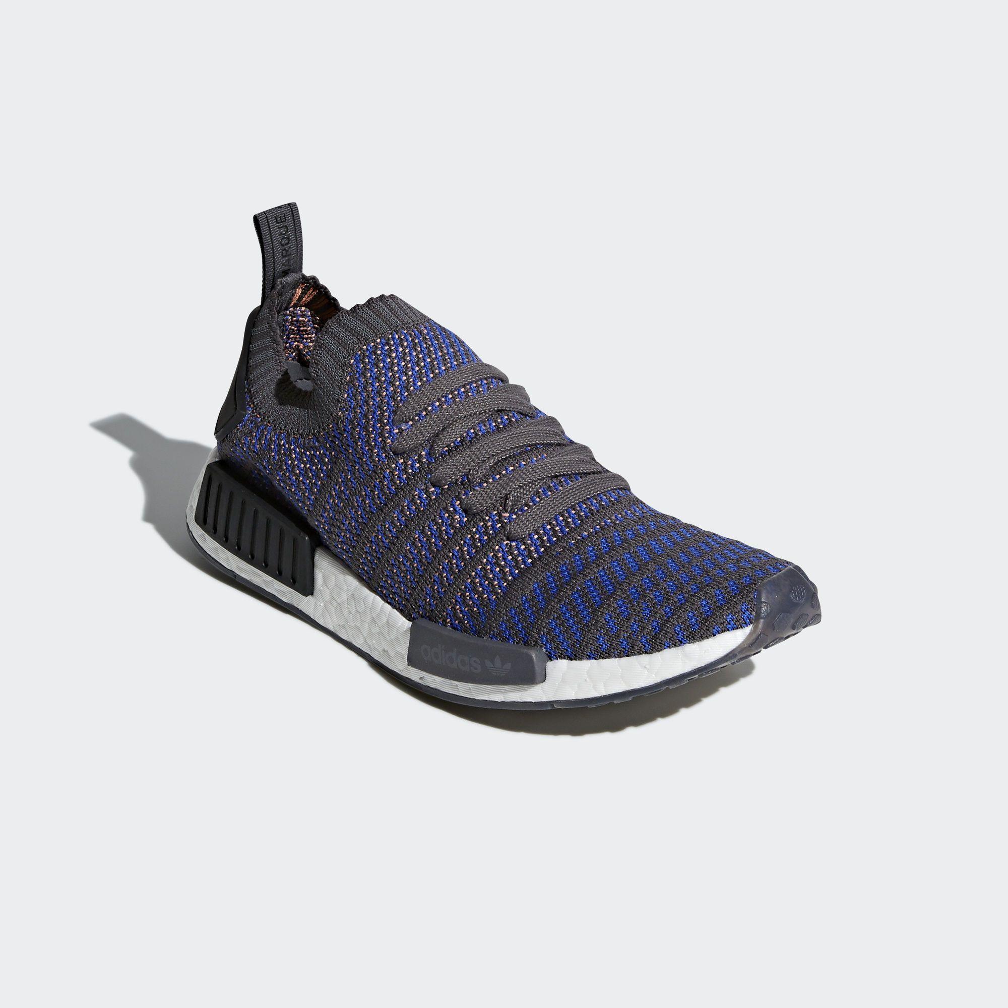 adidas NMD_R1 STLT Primeknit Shoes - Blue | adidas Australia | Nmd ...