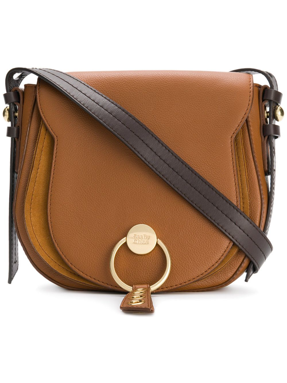 d20d3123 See By Chloé Lumir saddle bag Large Caramello | Bags | See by chloe ...