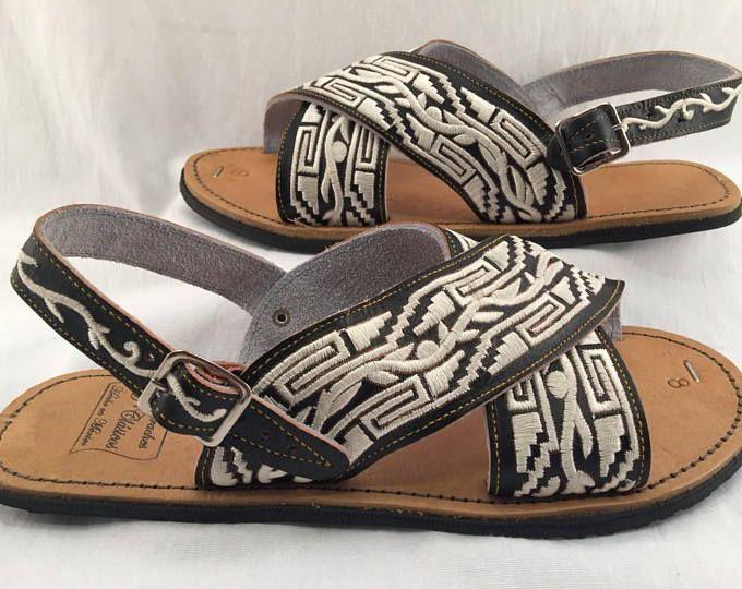 c96981087912 Barefoot Men Sandals - 100 % Genuine leather Barefoot Huarache ...