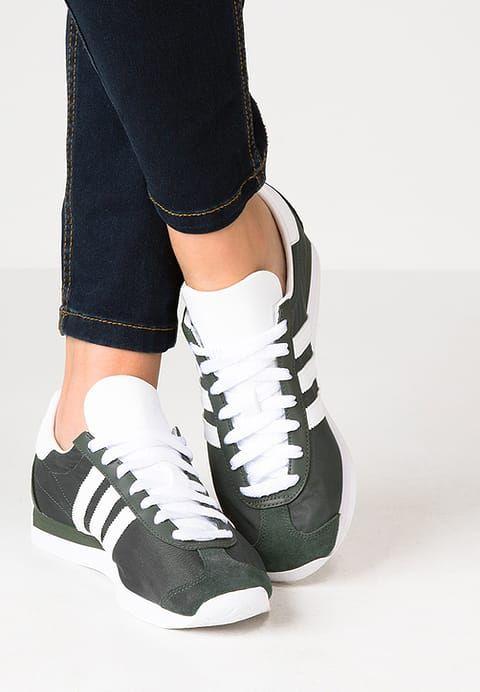 adidas Originals COUNTRY OG - Tenisówki i Trampki - utility ...