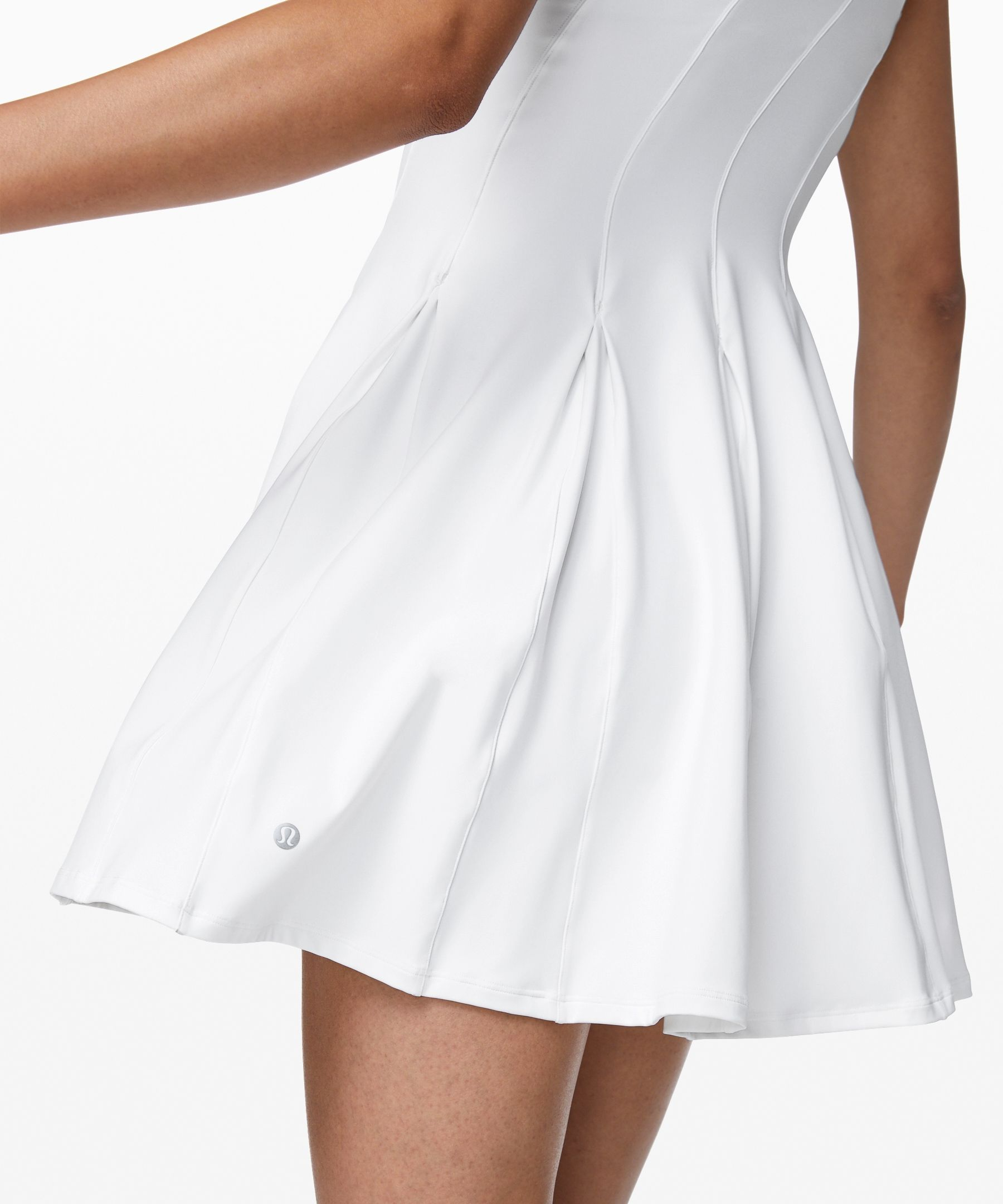 Lululemon Women S Court Crush Tennis Dress White Size 4 Tennis Outfit Women Tennis Dress White Tennis Dress [ 2160 x 1800 Pixel ]