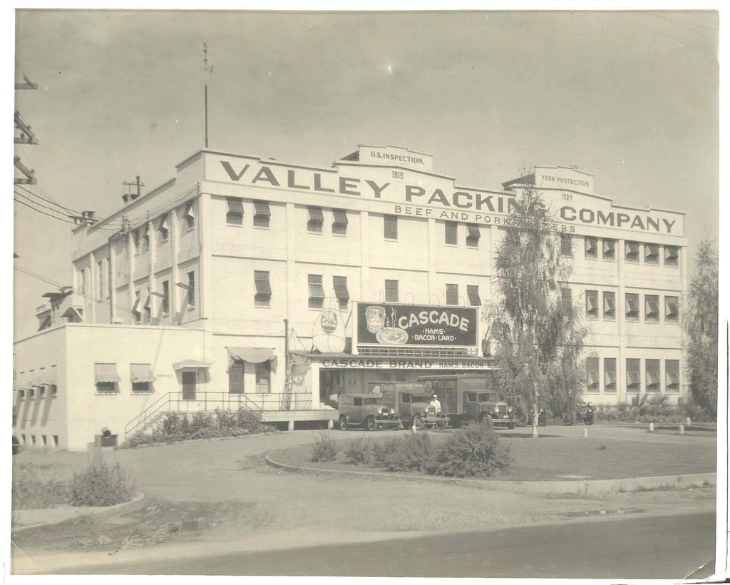 Photo of The Valley Meat Packing Co Plant Salem Oregon