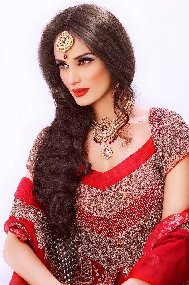 3a5a2c2122 Elegant Bridal Makeover Photoshoot 2012-13 by Mehreen Syed | TIKKA ...