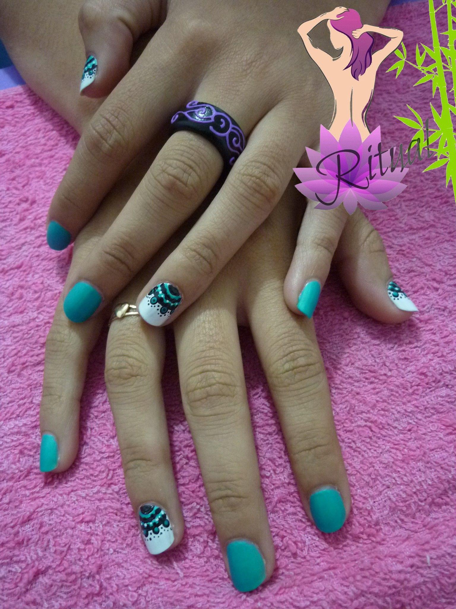 About baby boomer nail art tutorial by nded on pinterest nail art - Manicure Mandala Manicuresnailartmandalas