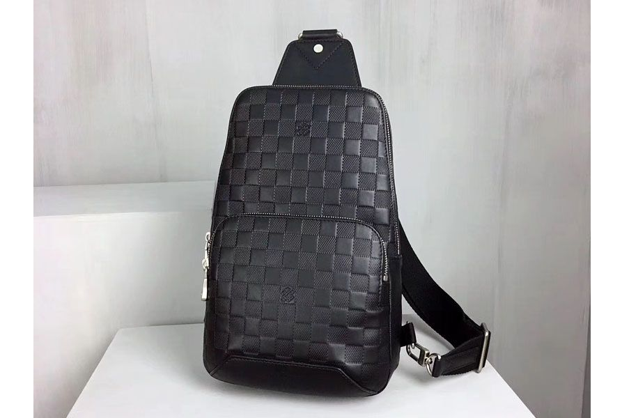 ebbe922b58 Louis Vuitton Avenue Sling bags Damier Infini Leather N41720 | bags ...